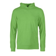 Geocaching Fleece hoodie heren limoen