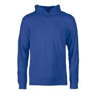 Fleece hoodie heren blauw