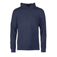 Fleece hoodie heren  marine