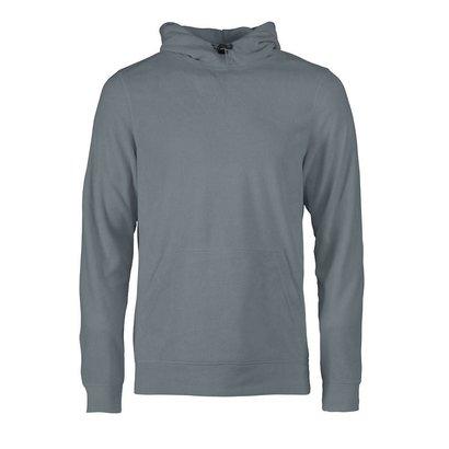 Fleece hoodie heren metaal