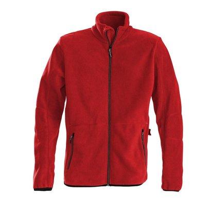 Fleece jacket heren rood