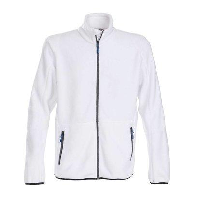 Fleece jacket heren wit