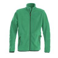 Fleece jacket heren frisgroen