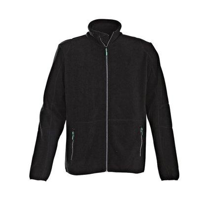 Fleece jacket heren zwart