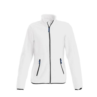 Fleece jacket vrouwen wit