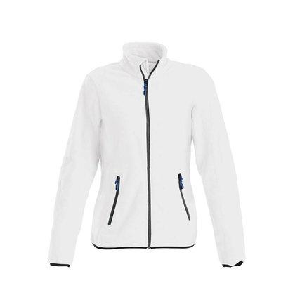 Geocaching Fleece jacket vrouwen wit