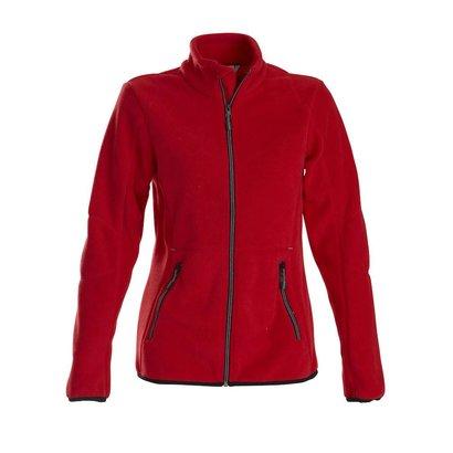 Geocaching Fleece jacket vrouwen rood