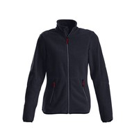 Fleece jacket vrouwen marine