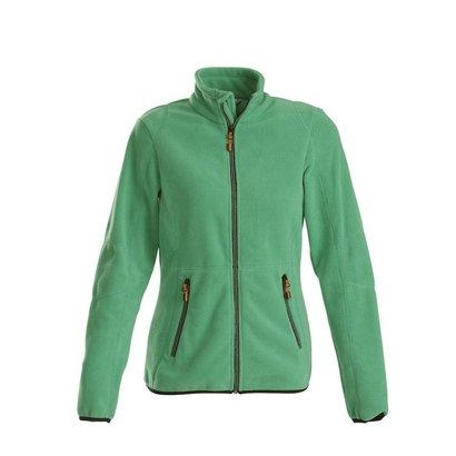 Geocaching Fleece jacket vrouwen frisgroen