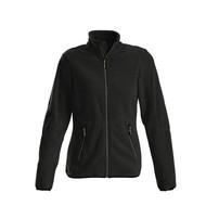 Fleece jacket vrouwen zwart