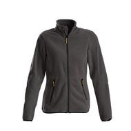 Fleece jacket vrouwen staalgrijs