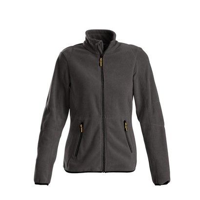 Geocaching Fleece jacket vrouwen staalgrijs
