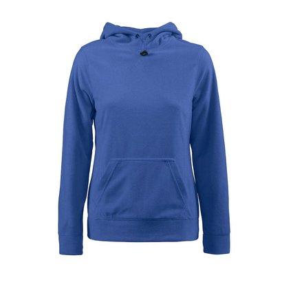 Fleece hoodie vrouwen blauw
