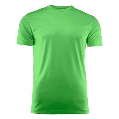 T-shirt heren polyester limoen
