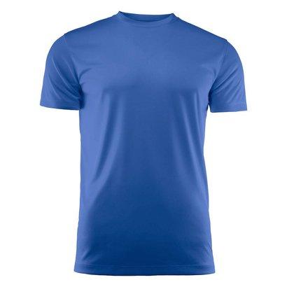 Geocaching T-shirt heren polyester blauw