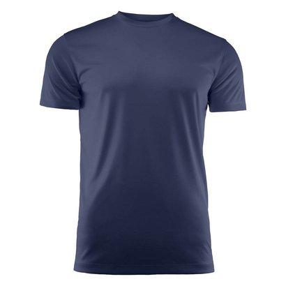 T-shirt heren polyester marine