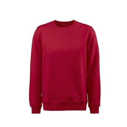 Sweater ronde hals heren rood