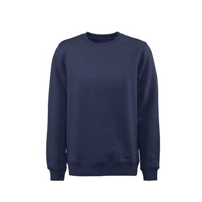 Sweater ronde hals heren marine