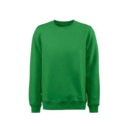 Sweater ronde hals heren frisgroen