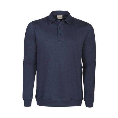 Polosweater heren marine