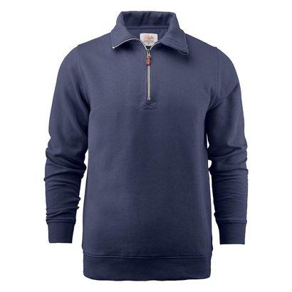 Geocaching Sweater met rits heren marine