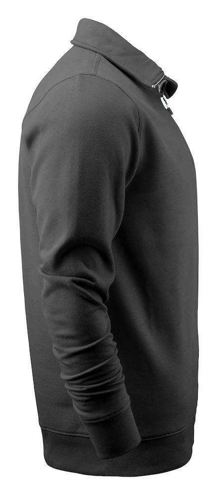 Hoodie Heren Met Rits.Geocaching Sweater Met Rits Heren Zwart Art Graphics
