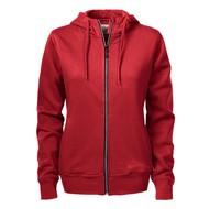 Hooded jacket Overhead dames rood
