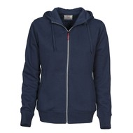 Hooded jacket Overhead dames marine