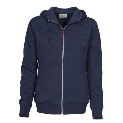 Geocaching Hooded jacket dames marine