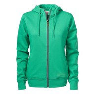 Geocaching Hooded jacket dames frisgroen