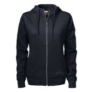 Geocaching Hooded jacket dames  zwart