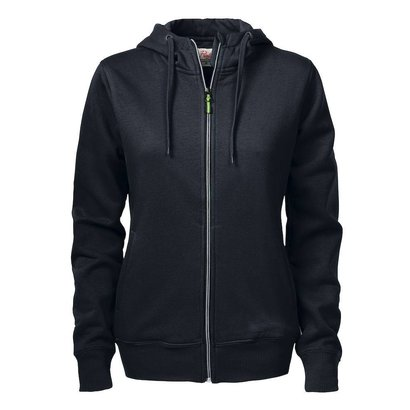 Geocaching Hooded jacket dames zwart