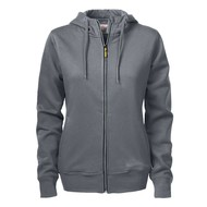 Geocaching Hooded jacket dames  staalgrijs