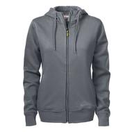 Hooded jacket Overhead dames  staalgrijs