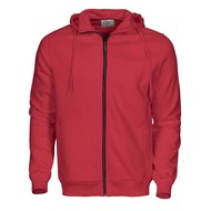 Geocaching Hooded jacket heren rood