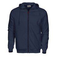 Hooded jacket Overhead heren marine