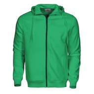 Geocaching Hooded jacket heren frisgroen