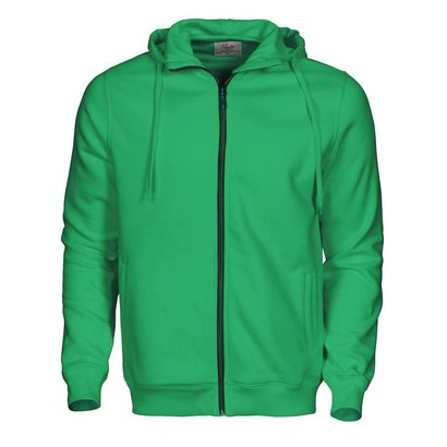 Hooded jacket heren frisgroen