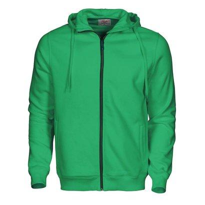 Hooded jacket Overhead heren frisgroen