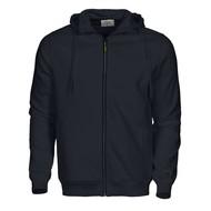 Hooded jacket Overhead heren zwart