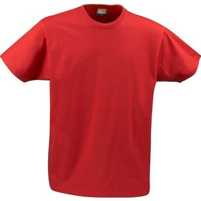 t-shirt heren met ronde hals rood