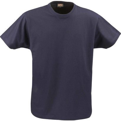 t-shirt heren met ronde hals marine