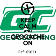 Keep calm and geocache on