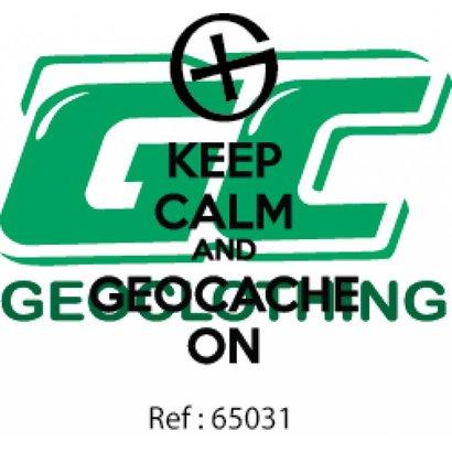 Keep calm and geocache on