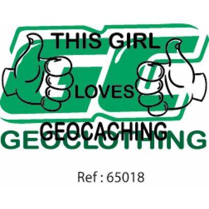 This girl loves geocaching