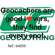 Geocachers are good lovers