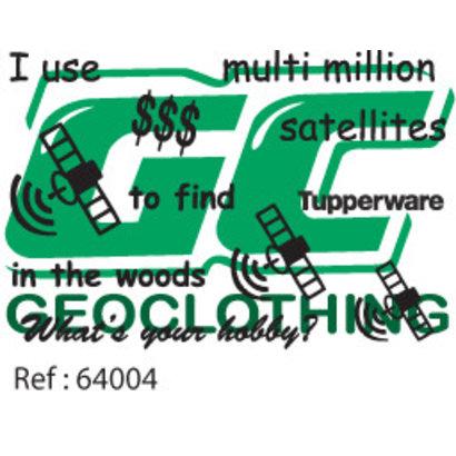 I use multi milion satellites
