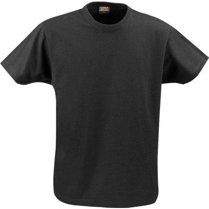 t-shirt heren met ronde hals zwart