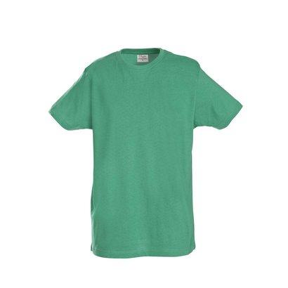 t-shirt heren  met ronde hals frisgroen