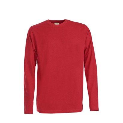 t-shirt met lange mouwen voor mannen rood